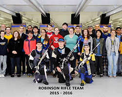 Robinson Team 2015 - 2016