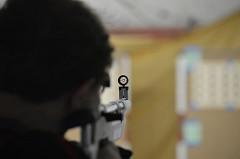 Aim down gun