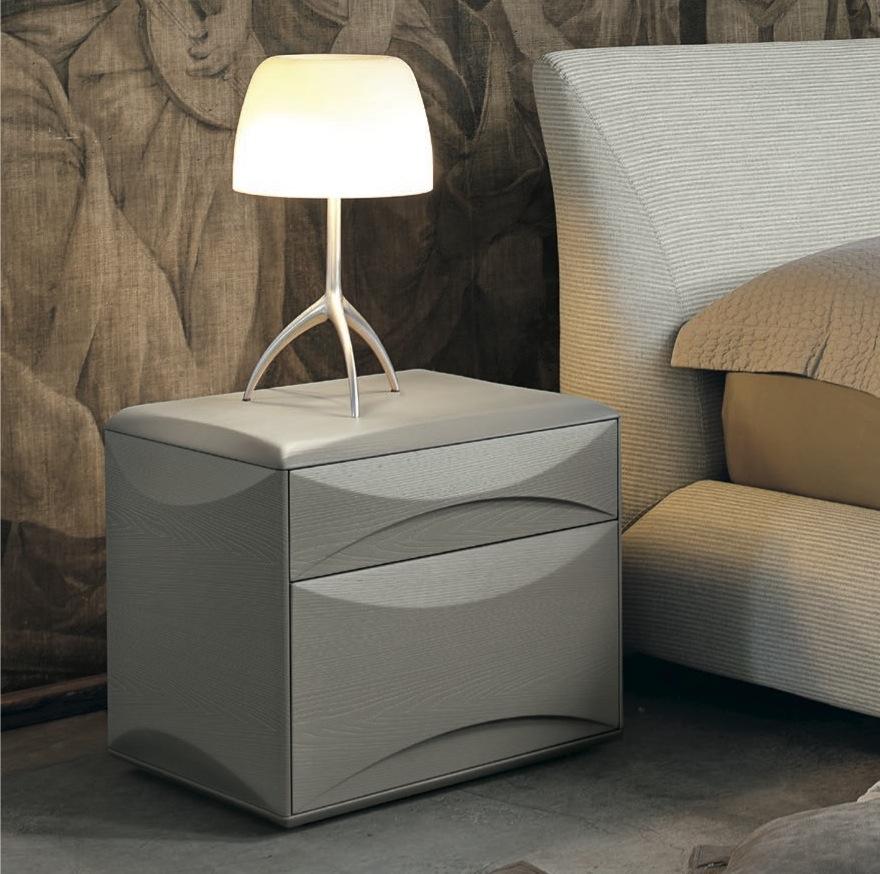 Modern Walnut Bedside Cabinet Tomasella Bedside Tables Robinsons Beds