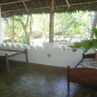 the veranda of the mainhouse