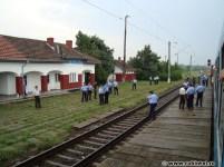 Razie în tren