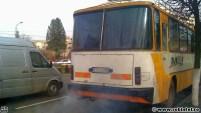 Autobuz care poluează intens