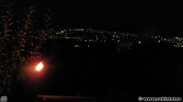 Noapte peste Cluj, vedere din Cartierul Iris
