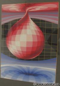 Desen abstract cu temă din fizică sau filozofie (http://www.robintel.ro/blog/fotoblog/bosonul-higgs-viziune-artistica/)