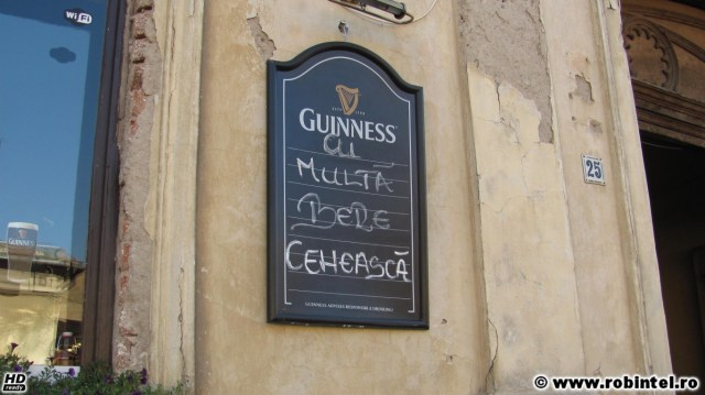 Guinness - Ai multă bere cehească. Say what? You got it all wrong!