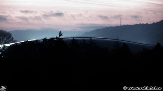 Frumoasa de lângă râu, Cluj Arena, scăldată în aburii misterioși ai Someșului