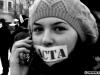 Protest anti-ACTA la Cluj