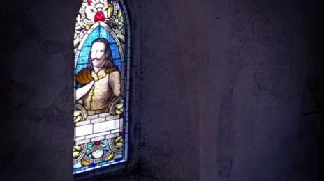 Vitralii cu Ioan (Iancu) de Hunedoara, la castel