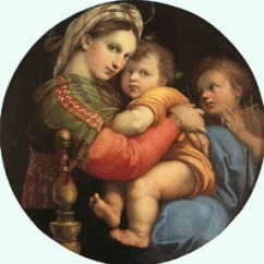 Madonna Of The Chair Restaurant Chairs Cheap Raphael Sanzio