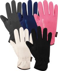 Gloves Fleece Sr Snowflake