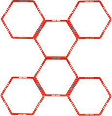 Avento Hexagon smidighetstrening 6pk