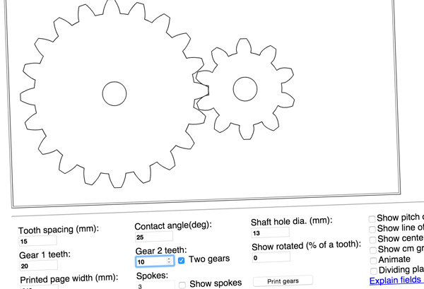 Gear Design Tools | Rob Ives