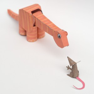Poseable Dinosaur