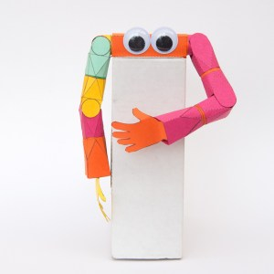 Poseable Paper Arm