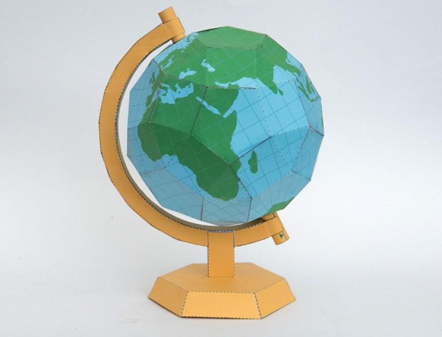 Earth Globe mk2 | Rob Ives
