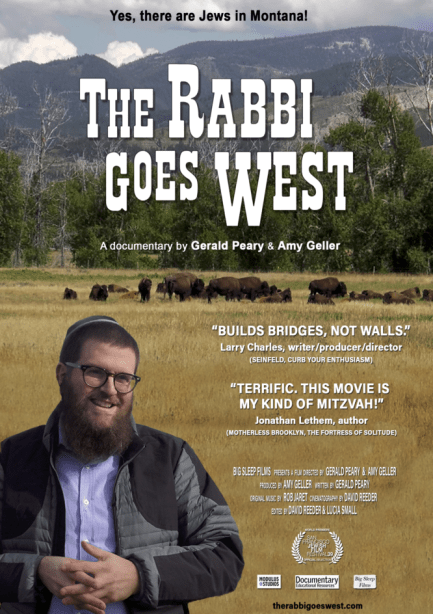 The Rabbi Goes West