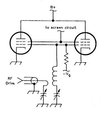 An improved input circuit for parallel-tube VHF power