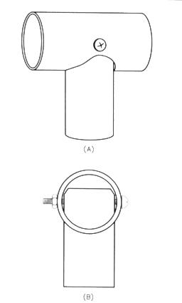 A ground-coupled portable antenna