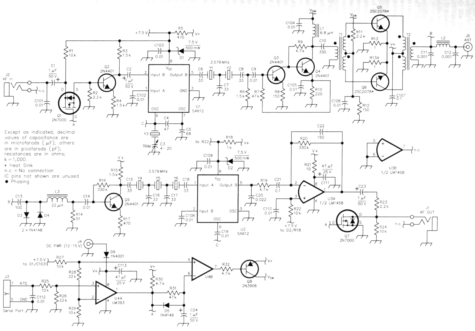 hight resolution of simple qrp transceiver circuit diagram
