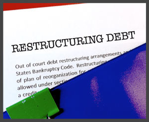 Professional paper on debt restructure