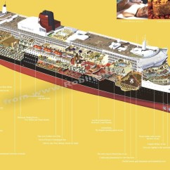 Cruise Ship Diagram 91 Crx Radio Wiring Queen Mary 2 Roblightbody Dot Com Picture