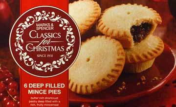 M&S mince pies