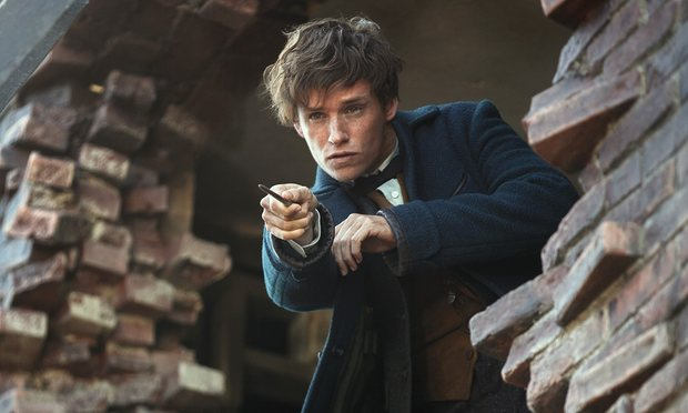 Still from Fantastic Beasts - Eddie Redmayne