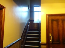 Stairs to function room 1