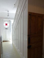 Netheredge Hallway & Stairs after paint 3