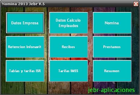 Calculo De Nomina Quincenal En Excel 2013