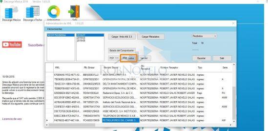 convertir xml a pdf
