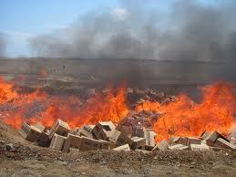 destruccion de mercancias