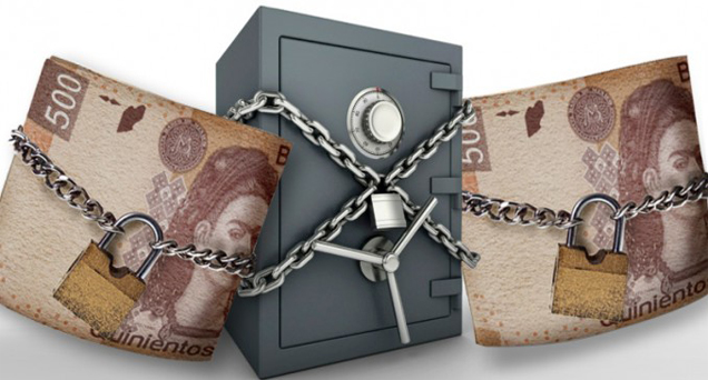 inmovilizacion de cuentas bancarias