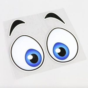 Aufkleber, Sticker, Eyes -Cartoon Vs 2 Bild 1