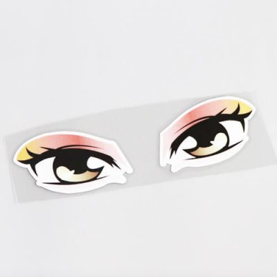 ufkleber, Sticker, Eyes - Lady Vs2 Bild 3