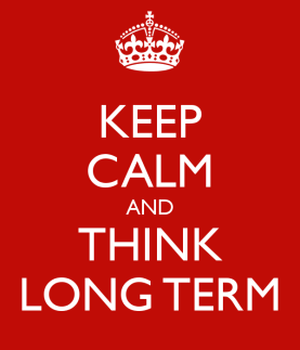 Mutual fund investment keep cal long term time horizon