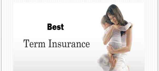 Top 5 best term insurance plan India 2017 18
