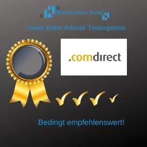 Robo-Advisor ComInvest Testbericht - das Ergebnis unseres Anbietertests