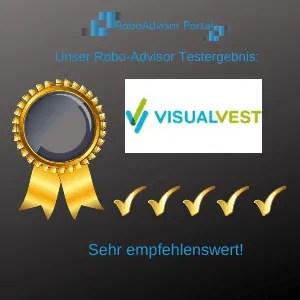 Robo-Advisor VisualVest Testbericht-Testergebnis