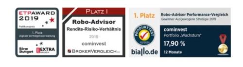 Cominvest Robo-Advisor Auszeichnungen