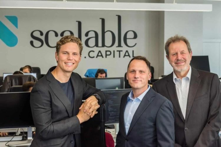 Scalable Capital Vorstellung - das Gründer Team des RoboAdvisors