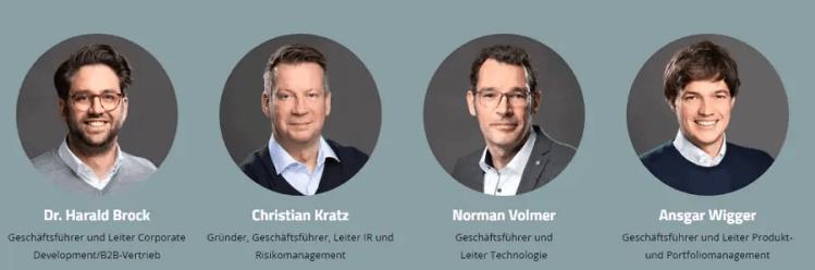 Investify Management-Team