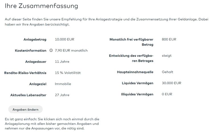 Cominvest Test - Zusammenfassung Daten Onboarding