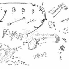 Derbi Senda 50 Wiring Diagram 2008 Impala Radio Lights Electrical System Sm Drd X Treme 2t E2 2010 2012 Zdpabb01