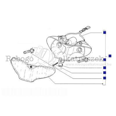 Gilera Runner 180 FXR drum M081M 1998-2000 ZAPM08000