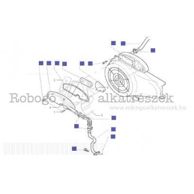 Piaggio Zip 50 2000 (4t) C252M (4t) 2007 ZAPC25000