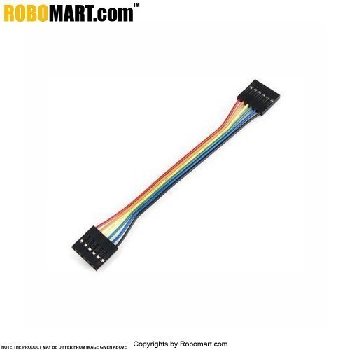 Buy 6 pin Dual-Female to Female Jumper Wire online India