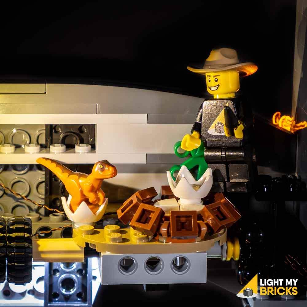 Lights for LEGO T-Rex Rampage 75936 - Light My Bricks