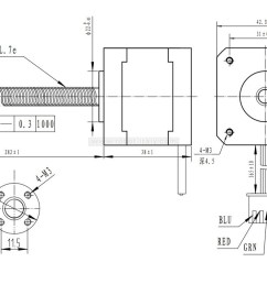 this nema 23 size hybrid stepping motor can be used as a unipolar or bipolar stepper motor and has a 1 8 step angle 200 steps revolution  [ 1200 x 749 Pixel ]
