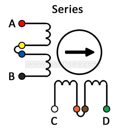 Nema 34 Stepper Motor Wiring Connection Diagrams Nema 42